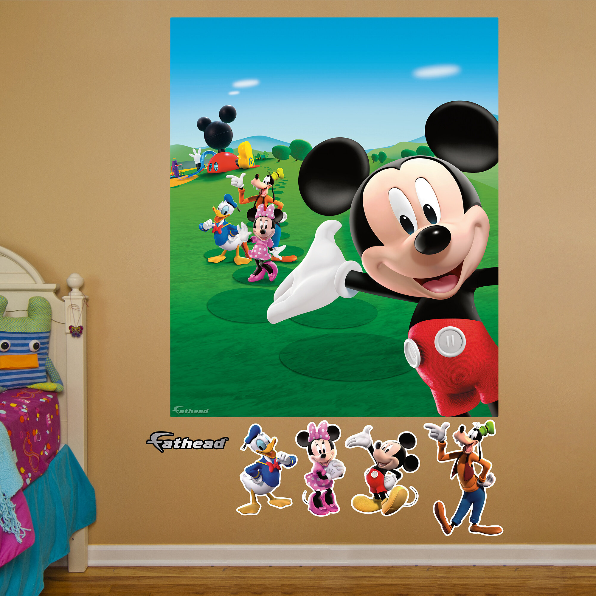 Massive Wall Poster//Picture//Art 04 Mickey Mouse