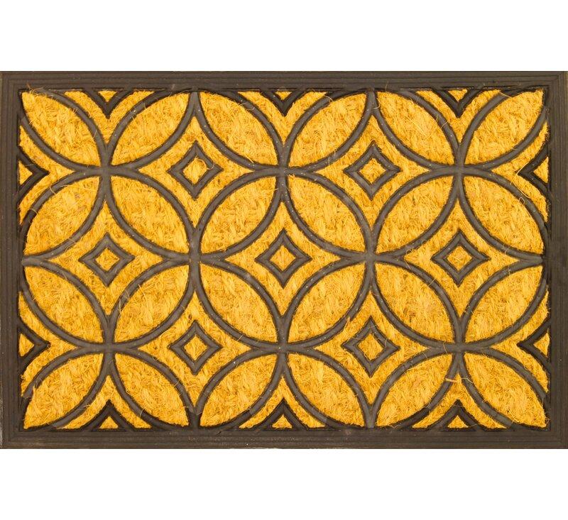 Art Deco Doormat  sc 1 st  Wayfair & Envelor Home Art Deco Doormat | Wayfair