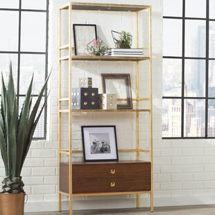 Read Reviews Arrighetto 4 Tier Etagere Bookcase By Trent Austin Design