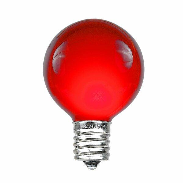 Novelty Lights 7 Watt G50 Light Bulb E17 Intermediate Base Wayfair