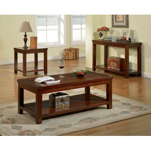 Dylon 3 Piece Coffee Table Set by Loon Peak