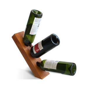 Vineyard 3 Bottle Tabletop Wine Rack by Recherche Furnishings