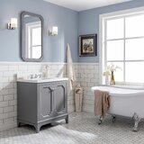 Kylan 30 Single Bathroom Vanity Set with Mirror by Alcott Hill®