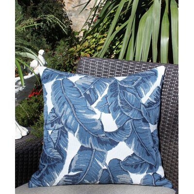 Skaggs Sunbrella Indoor / Outdoor Floral 20 Inch Throw Pillow by Bayou Breeze Spacial Price