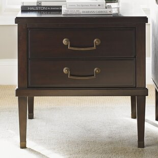 Kensington Place Chandler End Table with Storage