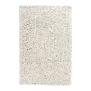 Pierce White Shag Area Rug
