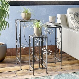 Savings Chaim 3 Piece Plant Stand Set By Latitude Run