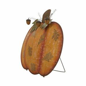 Iron Mesh Pumpkin Garden Stake