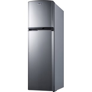 Summit Thin-Line Frost-Free 8.8 Cu. Ft. Counter Depth Top Freezer Refrigerator by Summit Appliance