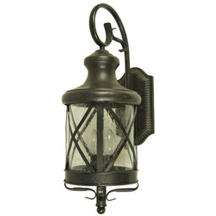 Affordable Forestburgh 3-Light Outdoor Wall Lantern By Darby Home Co