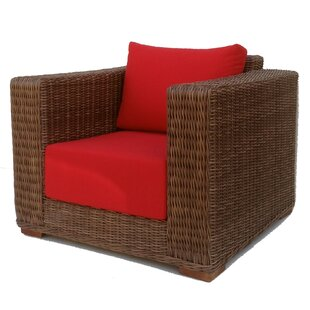 Santa Barbara Lounge Patio Chair with Cushions