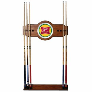 Miller High Life Billiard Cue Rack by Trademark Global