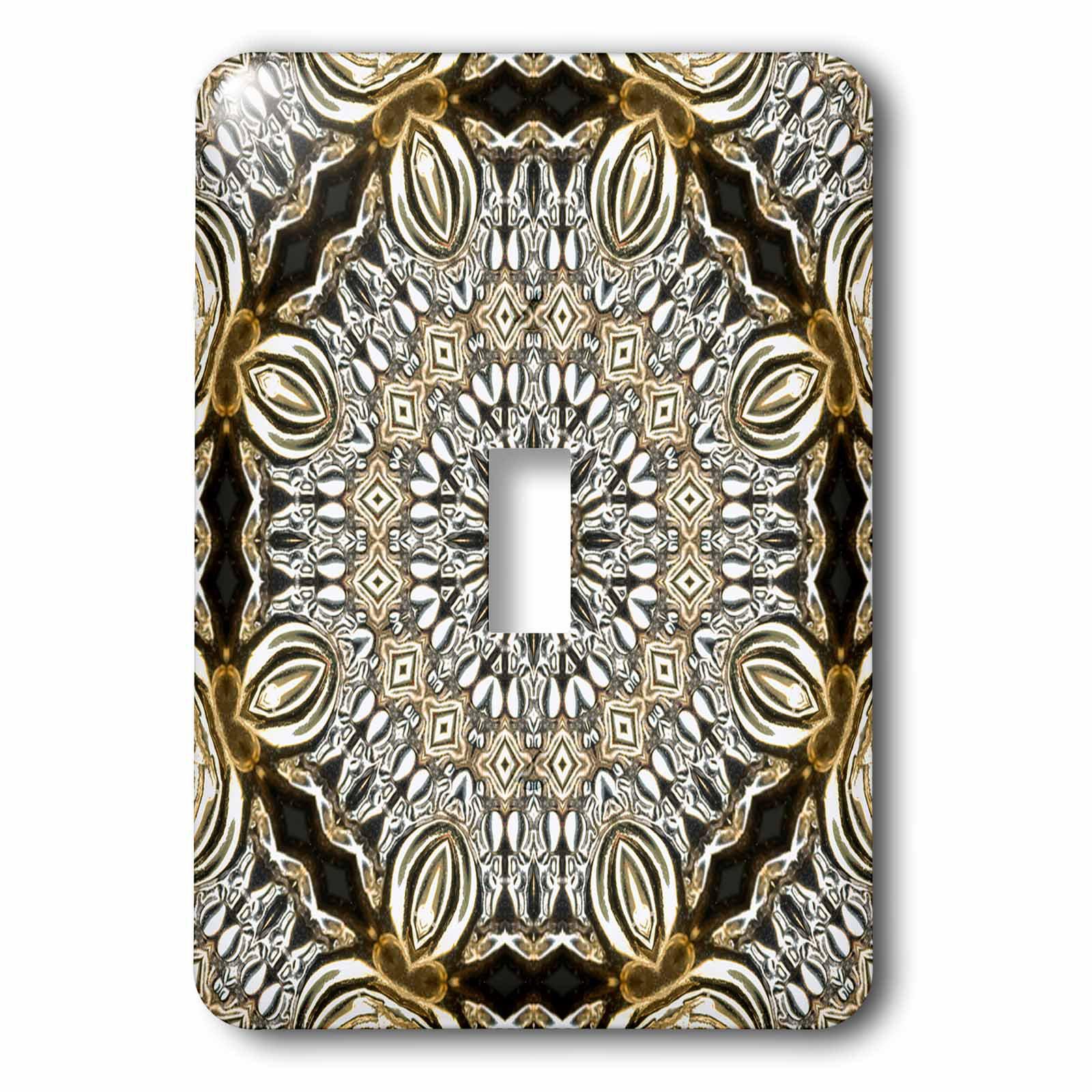3drose Jewelry Elegant Mandala 1 Gang Toggle Light Switch Wall Plate Reviews Wayfair