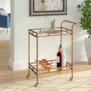 Simone Bar Cart by Langley Street