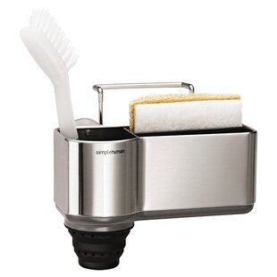 sink caddy organizer brushed stainless steel - Kitchen Caddy