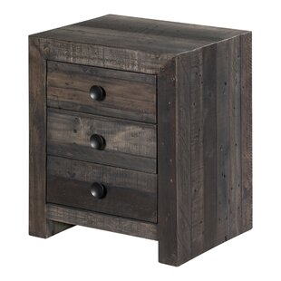 California Bay 3 Drawer Nightstand
