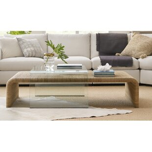 Amani Coffee Table with Tray Top