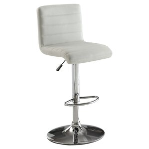 Elenore Adjustable Height Swivel Bar Stool by Orren Ellis
