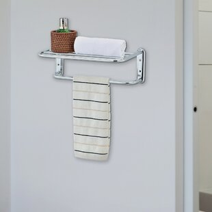 Cavazos Wall Mounted Towel Rack by Rebrilliant