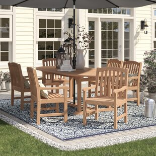 Summerton 7 Piece Teak Dining Set