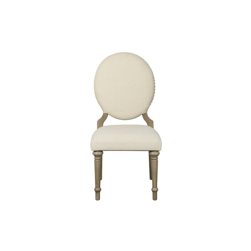 One Allium Way Antonie Oval Upholstered Dining Chair ...