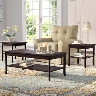 Jessica 3-Piece Coffee Table Set & Coffee Table Sets Youu0027ll Love | Wayfair