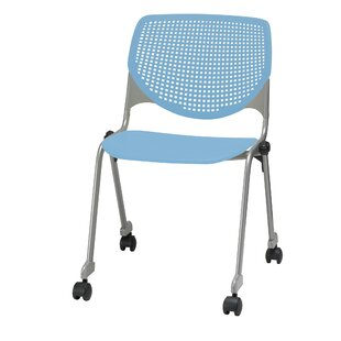 Lundell Armless Stacking Chair by Latitude Run