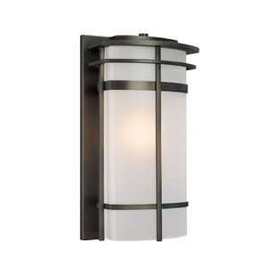 Inexpensive Akilah Modern 1-Light Outdoor Sconce By Bloomsbury Market