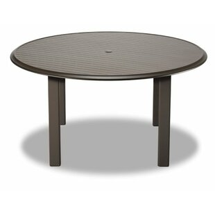Check Out Aluminum Slat 56 inch  Round Dining Table Online