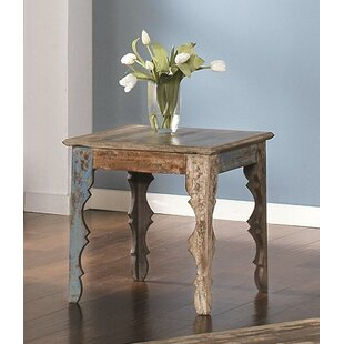 Best Reviews Marvale End Table by Bungalow Rose