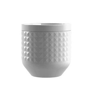 Diamond Ceramic 3 Piece Kitchen Canister Set