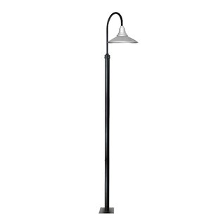 Best Reviews Calla 1-Light LED Post Light By Cocoweb