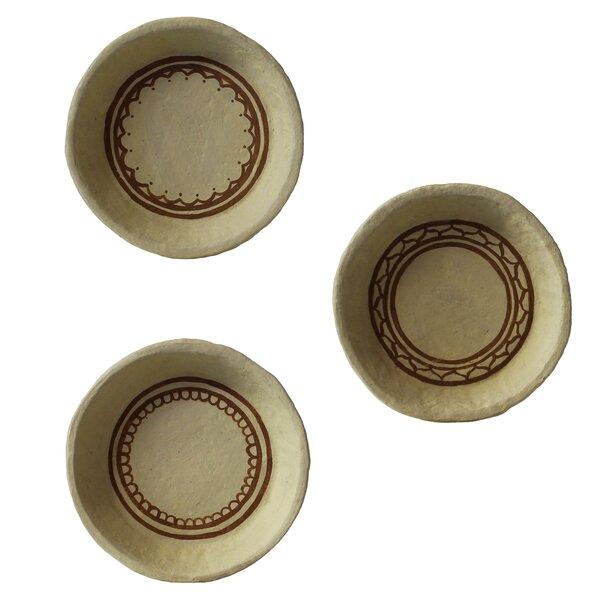 World Menagerie Risso Paper Mache Assorted Decorative Bowl Wayfair