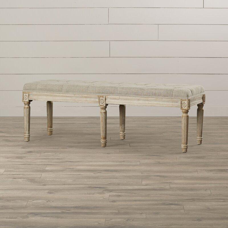 Dahlonega Upholstered Bench