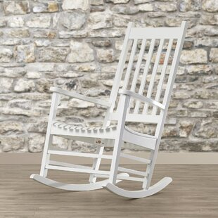 White Wood Rocking Chairs Youu0027ll Love | Wayfair