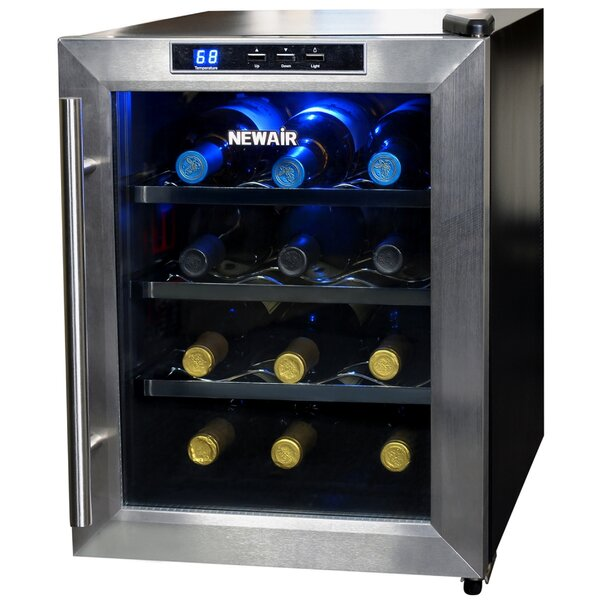 12-Bottle Single Zone Freestanding Wine Cooler