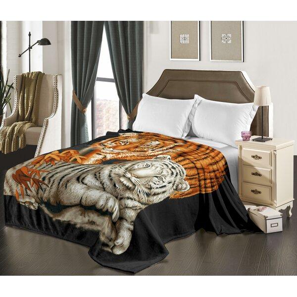 World Menagerie Ramet Lion Blanket Wayfair
