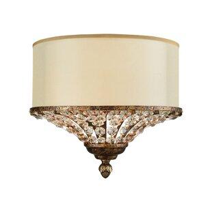 Great choice Lorena 2-Light Flush Mount By Astoria Grand