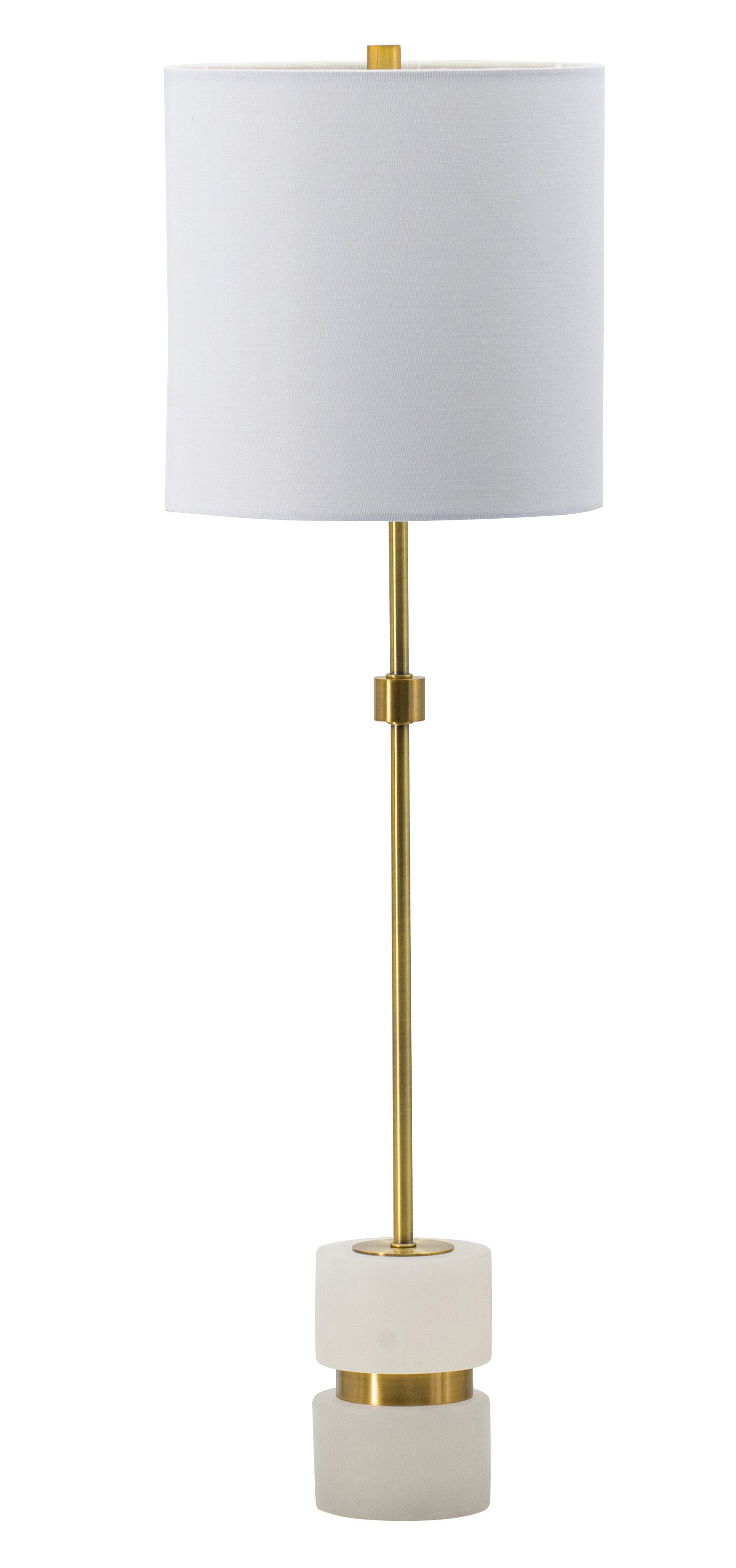 Everly Quinn Zain 34 Gold Table Lamp Wayfair