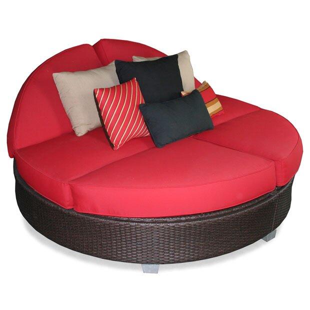 Patio HeavenSignature Round Double Chaise Lounge