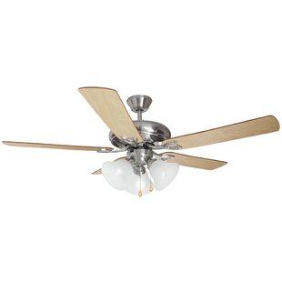 52 Bristol 5-Blade Ceiling Fan by Design House