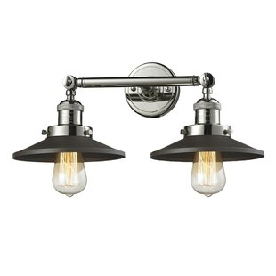 Online Reviews Ame 2-Light Bath Sconce By 17 Stories
