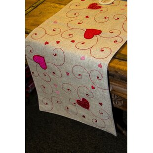 Valentine S Day Table Runners You Ll Love Wayfair