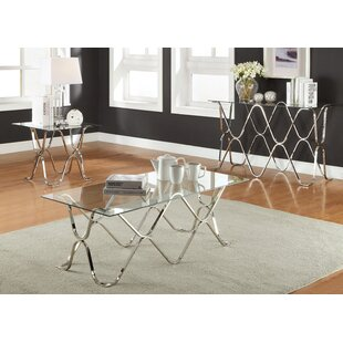 Holt 3 Piece Coffee Table Set