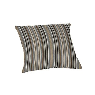 Cantwell Sunbrella Stripe Outdoor Throw Pillow
