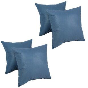 Beechmeadow Cotton Throw Pillow (Set of 4)