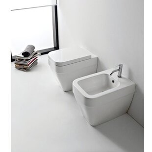 Searching for Bucket Ceramic Circular Vessel Bathroom Sink with Overflow ByScarabeo by Nameeks