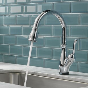 Leland Standard Single Handle Kitchen Faucet with Touch2O® Technology