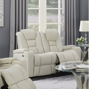 Adalynn Power Reclining Loveseat by Latitude Run Bargain