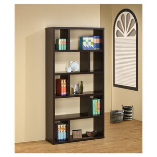 Best Reviews Felicia Geometric Bookcase by Wildon Home®